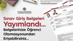2018 Güz Dönemi Final Sınavı Giriş Belgeleri Yayımlandı