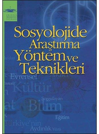 Sosyolojide Araştırma Yöntem ve Teknikleri Ders Kitabı