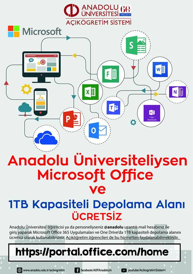 Açıköğretim Öğrencilerine Ücretsiz Office Programları