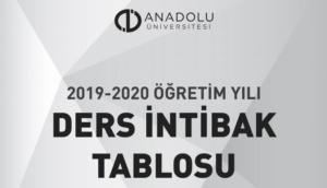 2019-2020 Ders İntibak Listesi ve Merak Edilenler