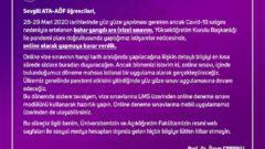 Atatürk Üniversitesi Bahar Dönemi Arasınavları Online Yapılacak