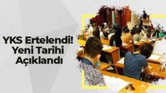 Koronavirüs Nedeniyle YKS Sınavı'da Ertelendi