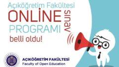 Ata Aof Online Sınav Takvimi Belli Oldu