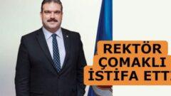 Anadolu Üniversitesi Rektörü Prof. Dr. Şafak Ertan Çomaklı İstifa Etti