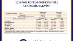 Ata-Aof 2020-2021 Akademik Takvimini Açıkladı