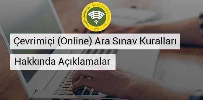 İstanbul Auzef Online Sınav Detayları