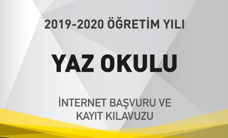 2020 yaz okulu
