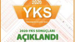 2020 YKS Sınav Sonuçları Açıklandı