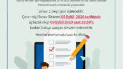 2020 Yaz Okulu Sınav Tarihleri Güncellendi