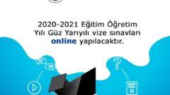 AtaAof 2020 – 2021 Güz Dönemi Vize Sınavlarını Online Yapacak