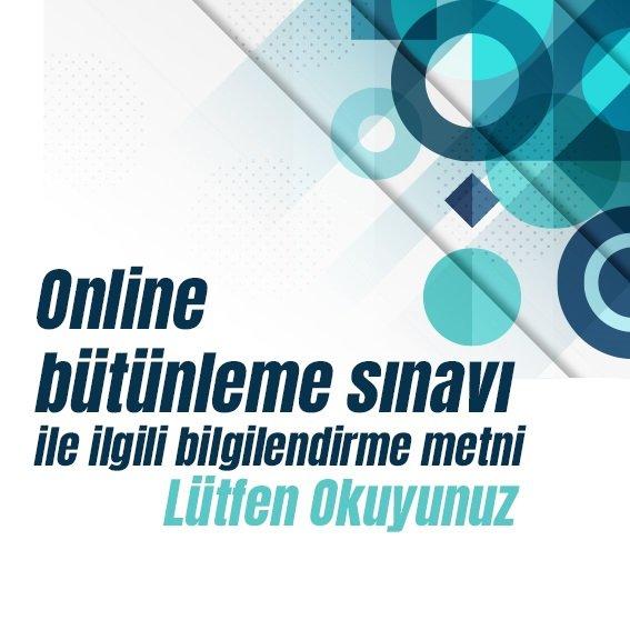 Ata Aof 2020-2021 Güz Dönemi Online Bütünleme Sınavı