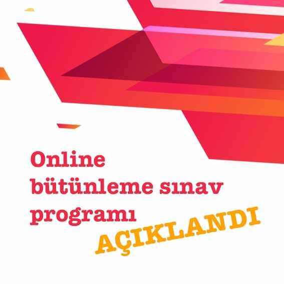 Ata Aof 2021 Güz Dönemi Online Bütünleme Sınav Programı