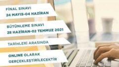 Ata Aof Bahar Dönemi Online Final ve Bütünleme Tarihleri Belli Oldu