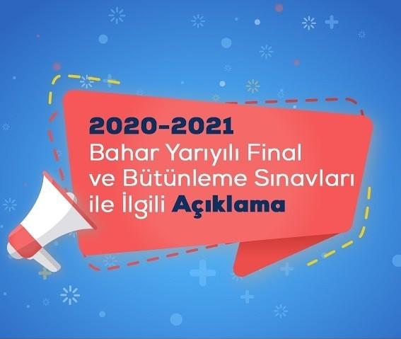Ata Aof 2020 - 2021 Final ve Bütünleme Sınavları Online Yapılacak