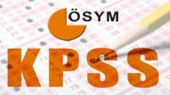 2021 KPSS Başvurusu Ne Zaman (Öğretmenlik Alan Bilgisi Sınavı)