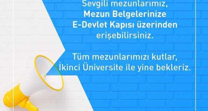 2021 Aof Diplomaları ve Mezun Belgeleri