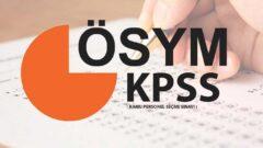 2022 KPSS Takvimi Açıklandı mı?