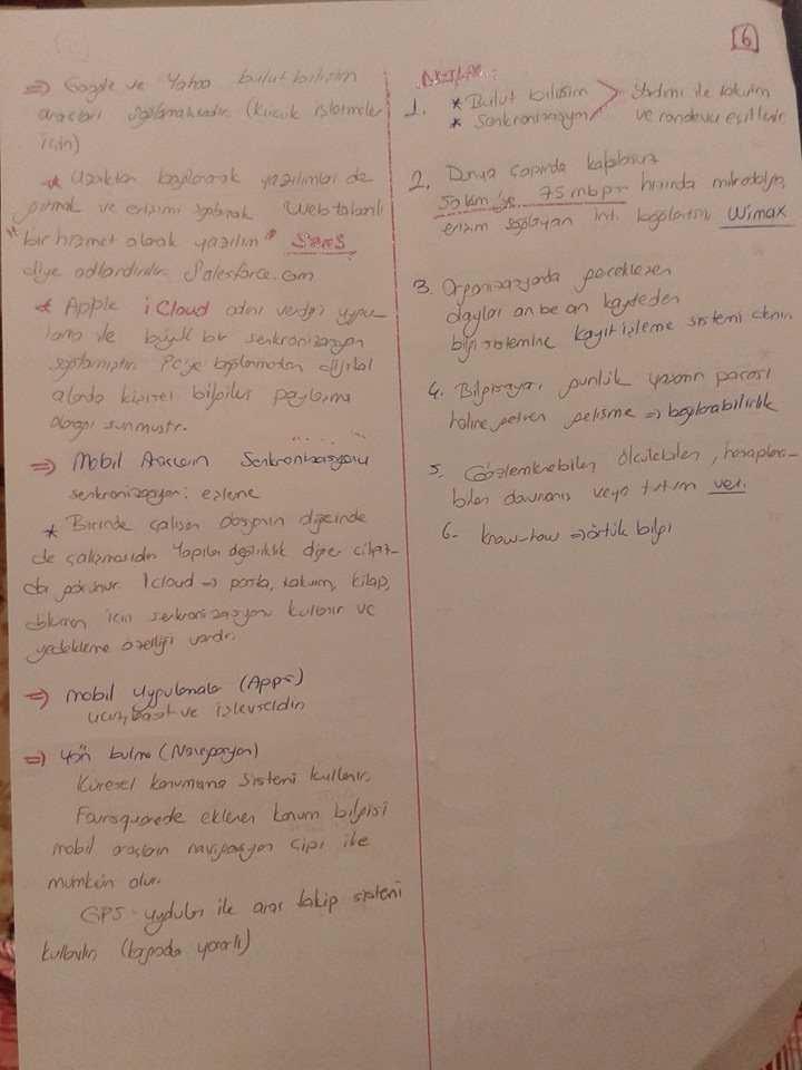 Büro Teknolojileri - Ünite 5 Ders Notları