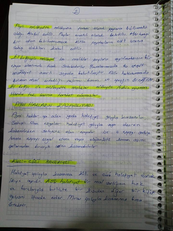 medeni hukuk unite 2 ders notlari acikogretim aof ders notlari acikogretim sorular