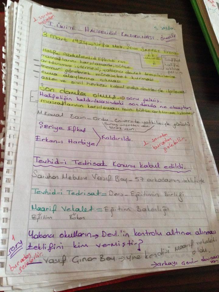 Atatürk İlkeleri ve İnkılap Tarihi - Ünite 1 Ders Notları