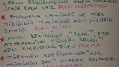 Çağdaş Türk Edebiyatı – Türkmen Edebiyatı Ders Notları