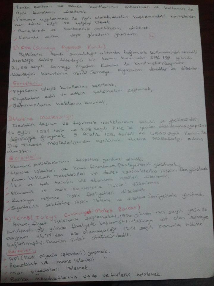 Finansal EkonomiÜnite 3 Ders Notları