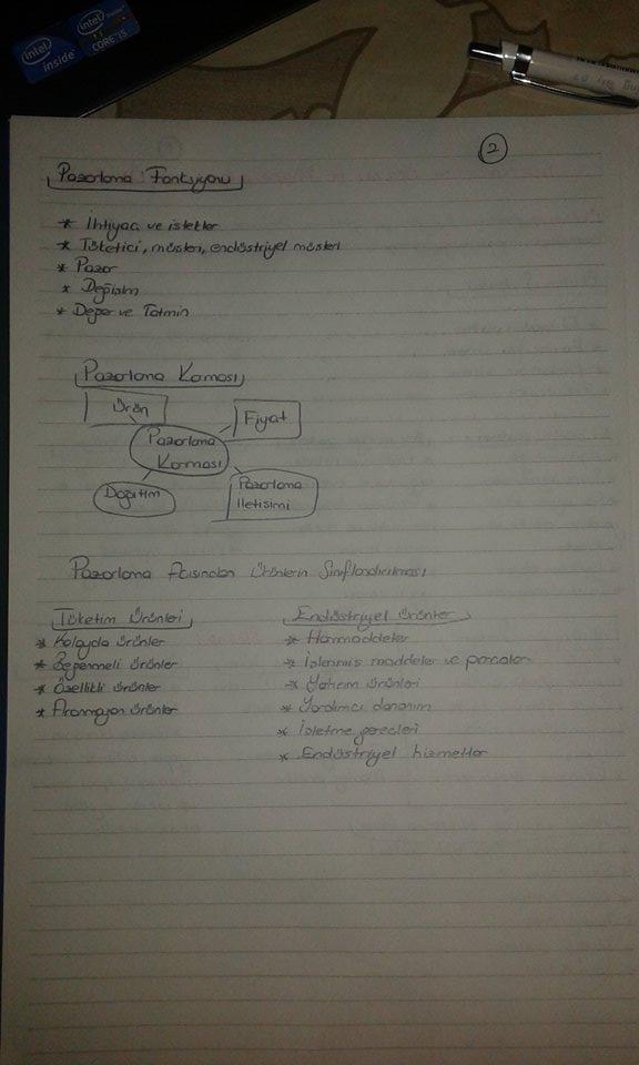 Genel İşletme - Ünite 6 Ders Notları