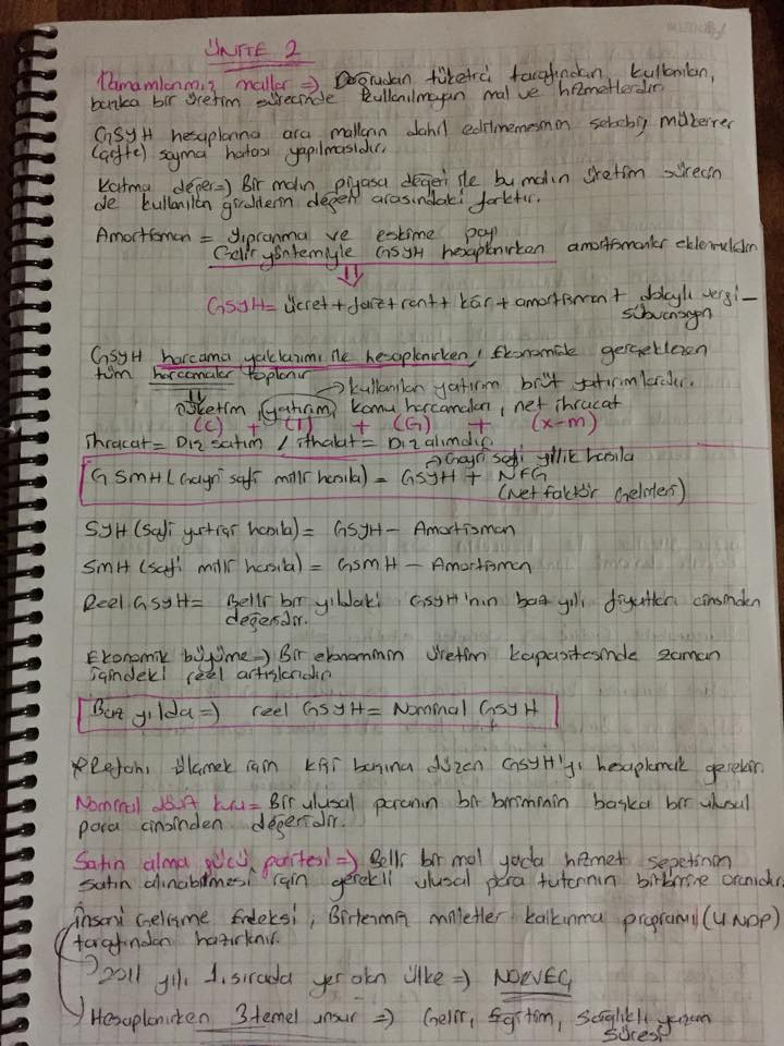 İktisada Giriş Soru - Cevap Ders Notları