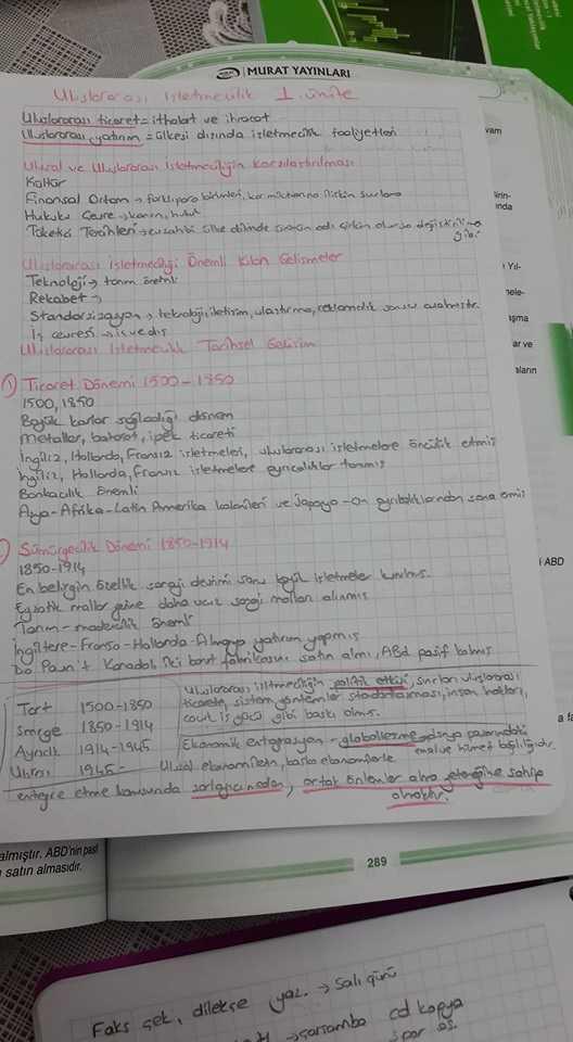 Uluslararası İşletmecilik - Ünite 1 Ders Notları