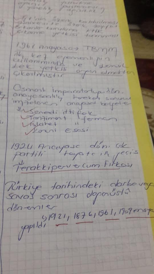 Anayasa Hukuku Ünite 1-4 Ders Notları