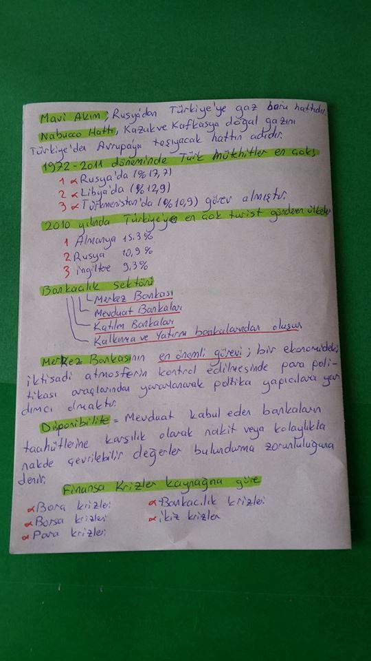 Çalışma Ekonomisi Ders Notları