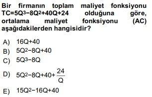 matematiksel iktisat